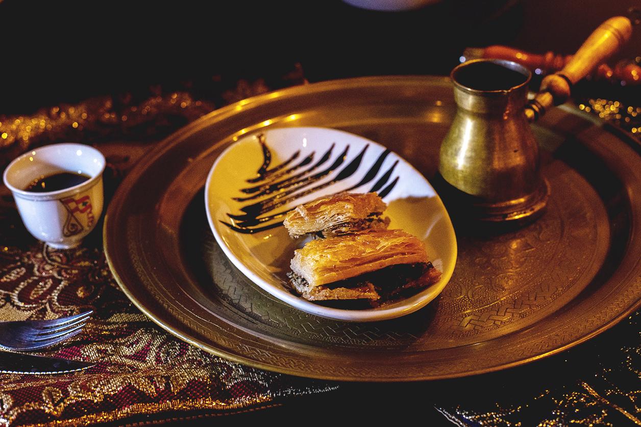 Gastronomía-Postres-baklawa